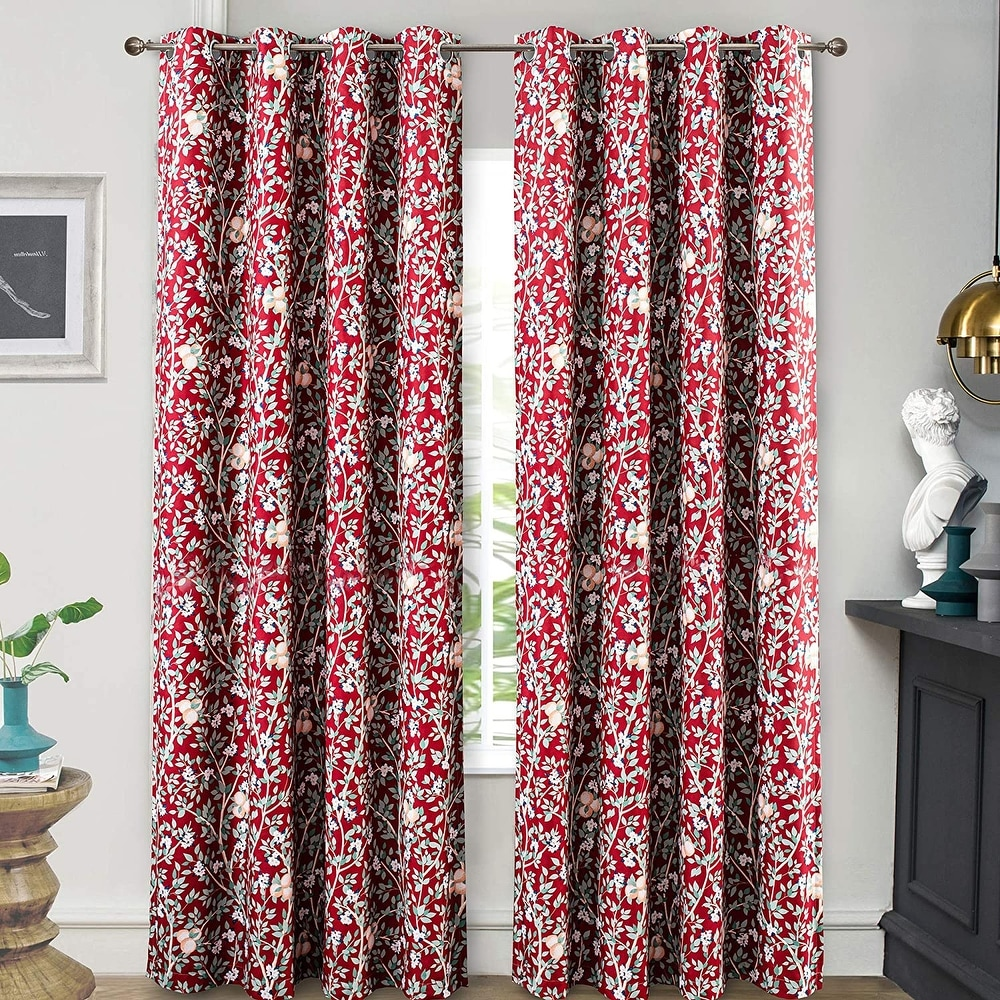 Rainbow Six Siege Blackout Curtain Panel Thermal Insulated Window Drapes 2 Panel