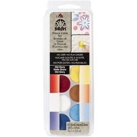 Plaid:Craft FolkArt Stencil Cream Paint Set, Old Glory, 6-Pack