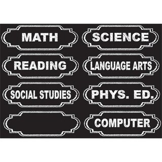 Ashley Productions ASH19003 Die-Cut Magnets Chalkboard Class