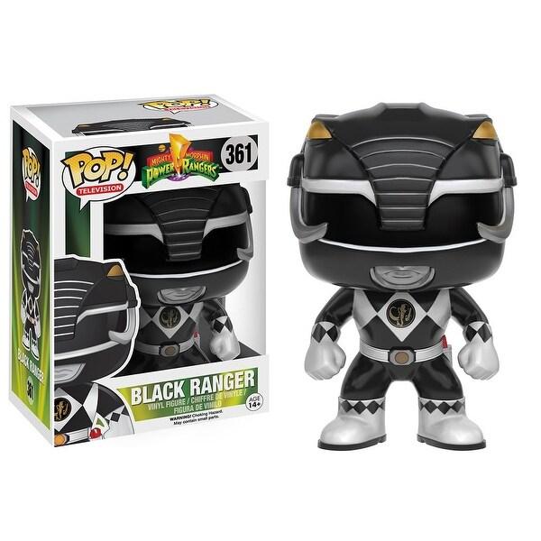 Power Rangers Funko Pop TV Vinyl Figure Black Ranger