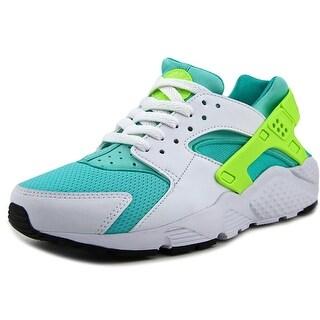 Nike Huarache Run (GS) Youth Round Toe Synthetic White Running Shoe