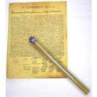 Historic U.S. Document Reproduction: Declaration of Independence - multi