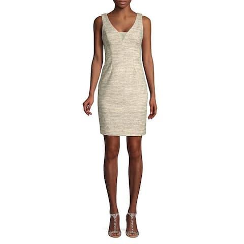 Eliza J Women's Sheath Dress, Metallic, 4