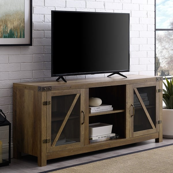 The Gray Barn Kujawa 58-inch TV Stand Console. Opens flyout.