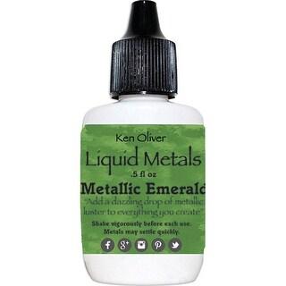 Ken Oliver Liquid Metals-Metallic Emerald