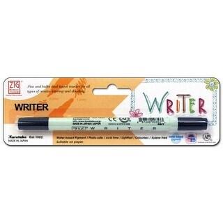 Zig Writer Pen Dual Tip Pkg Navy
