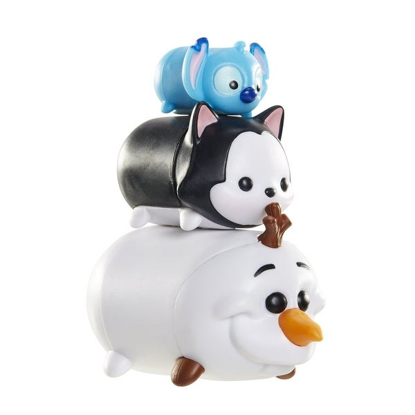 Disney Tsum Tsum 3 Pack: Stitch, Figaro, Olaf - multi