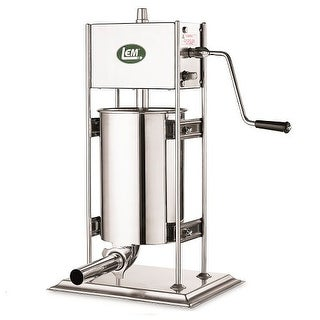 LEM Products 25 Pound Dual Gear SS Vertical Sausage Stuffer