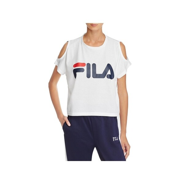 3148da8c74ecc6 Shop Fila Womens Nikki T-Shirt Fitness Yoga - Free Shipping On ...
