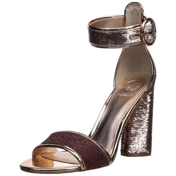GUESS Women's ABHA2 Heeled Sandal
