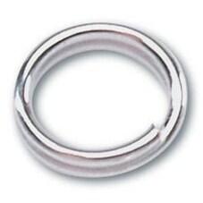 Double Rings 7mm 30/Pkg - Silver Metal Findings