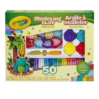 Crayola Modeling Clay Deluxe Tool Kit