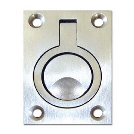Stainless Steel Square Pull Hatch Latch Locking Latch Marine 63*44mm