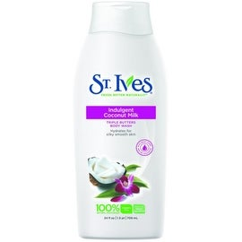 St. Ives Triple Butters Intensely Hydrating Body Wash, Indulgent Coconut Milk 24 oz