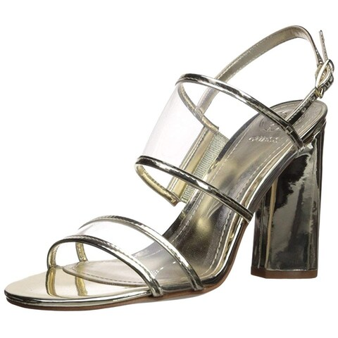 GUESS Womens amidala Open Toe Casual Ankle Strap Sandals