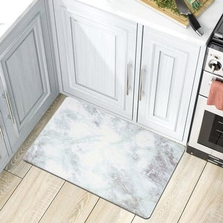 Link to Kitchen Marble Pattern Anti Fatigue Standing Mat Similar Items in Classic Rugs