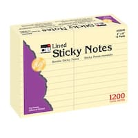Sticky Notes 4X6 Lined