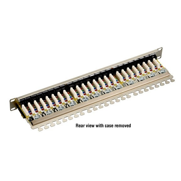 Black Box Network Services - Cat6 Shielded Patch Panel, 24-Port