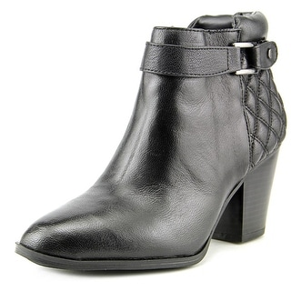 Alfani Wakefeld Pointed Toe Leather Bootie