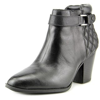 Alfani Wakefeld Pointed Toe Leather Bootie