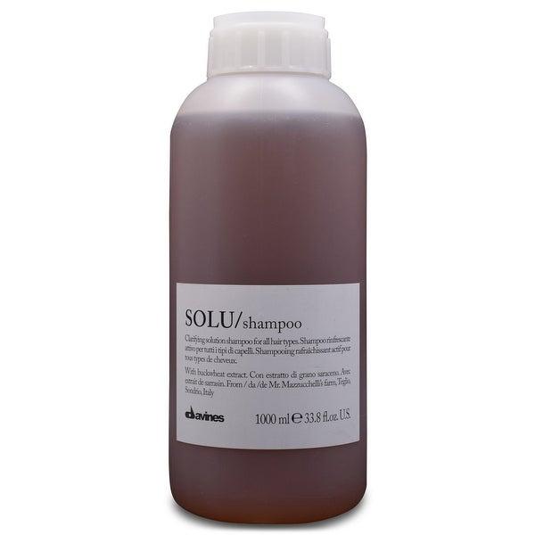 Davines SOLU Clarifying Shampoo 33.8 Oz