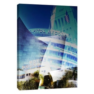 """PTM Images 9-109031  PTM Canvas Collection 10"""" x 8"""" - """"Los Angeles"""" Giclee Buildings and Landmarks Art Print on Canvas"""