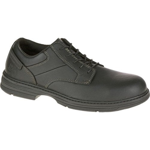CAT Footwear Oversee Steel Toe - Black 8.5(M) Work Shoe