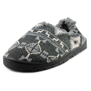 Muk Luks John Round Toe Canvas Slipper