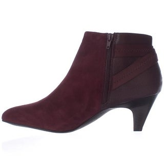 Alfani Womens Vandela2 Leather Closed Toe Ankle Fashion Boots (More options available)