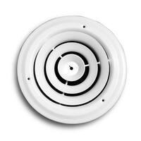 """Truaire C800-06 Round Ceiling Diffuser, 6"""""""