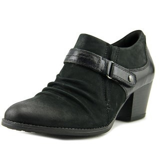 Earth Angel   Round Toe Leather  Bootie