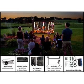 SilverScreen Series - 9 Foot Backyard Theater System
