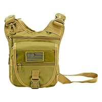 Tactical Sling Range Bag - Desert Tan