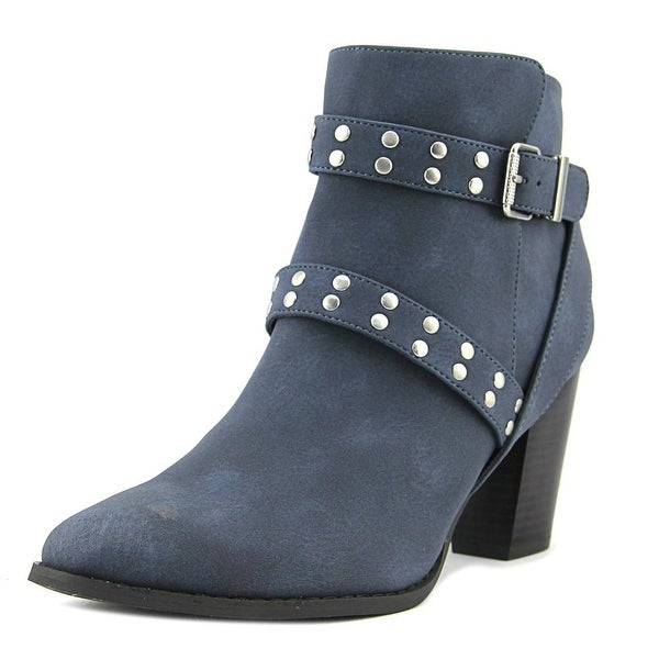 Style & Co Betzie Women Round Toe Synthetic Blue Bootie