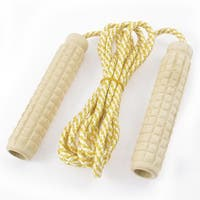 Unique Bargains 7.1 Ft Nylon String Plastic Grips Fitness Exercise Jump Rope Skipping Rope