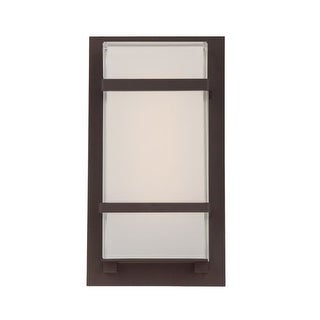 Modern Forms WS-W1611 Phantom 1 Light LED ADA Compliant Outdoor Wall Sconce - 6 Inches Wide