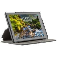 Speck StyleFolio Case for Verizon GizmoTab, Ellipsis 8 HD - Black/Slate Grey