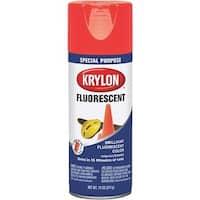 Krylon/Consumer Div Red/Orange Spray Paint K03101007 Unit: EACH