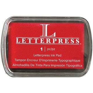 Letterpress Ink Pad-Red