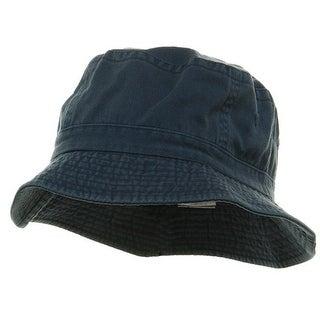 Pigment Dyed Bucket Hat-Indigo - INDIGO