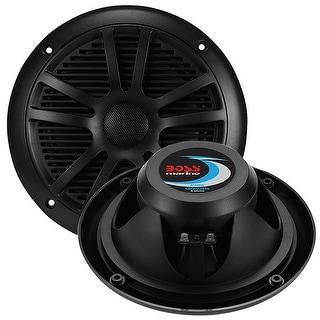 """Boss Audio Marine black 6.5"""" dual cone (PAIR) 180 watts"""