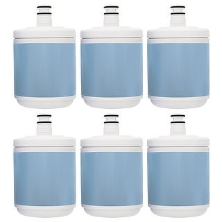Replacement Filter for Kenmore LT500P / WF290 / EFF-6005A / WSL-1 (6-Pack) Refrigerator Water Filter
