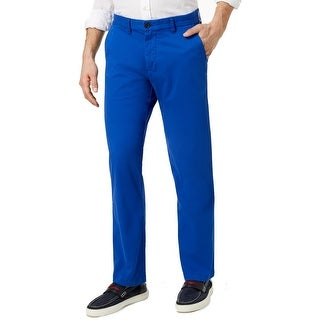 Link to Tommy Hilfiger Mens Chino Pants Blue 38x30 Slim Fit Flat Front Stretch Similar Items in Big & Tall