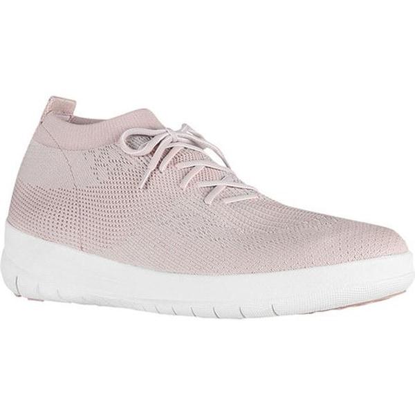 510b30c0775c Shop FitFlop Women s F-Sporty Uberknit High Top Sneaker Neon Blush ...
