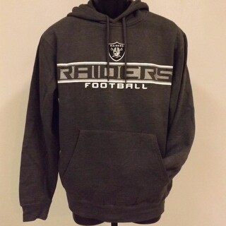 High Quality Oakland Raiders Adult Mens Size S Small NFL HOODIE