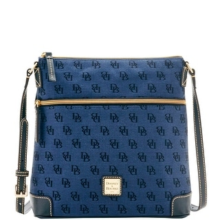 Dooney & Bourke Madison Signature Crossbody (Introduced by Dooney & Bourke at $168 in Jul 2016) - Navy