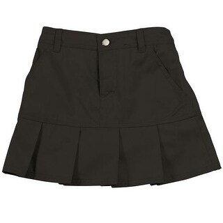 French Toast Girls 7-20 Twill Pleated Scooter