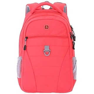 Swiss Gear SA5587 Student Backpack with Laptop Compartment - Red