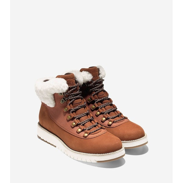 Cole Haan Womens Grand explore hiker Leather Closed Toe Ankle Cold Weather Bo... - 7