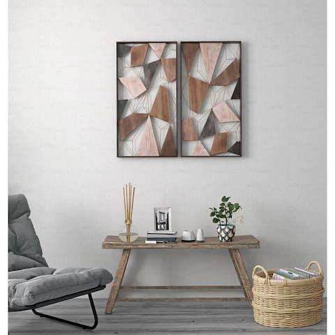 Saskia (Set/2) Geometric Wall Decor